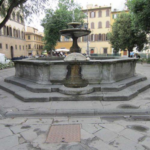 Fontana in Piazza Santo Spirito – Firenze
