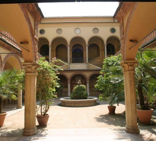 La fontana del Museo Archeologico di Bologna