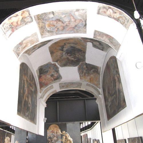 Restauro affreschi 'strappati' di Valerio Castello – Genova