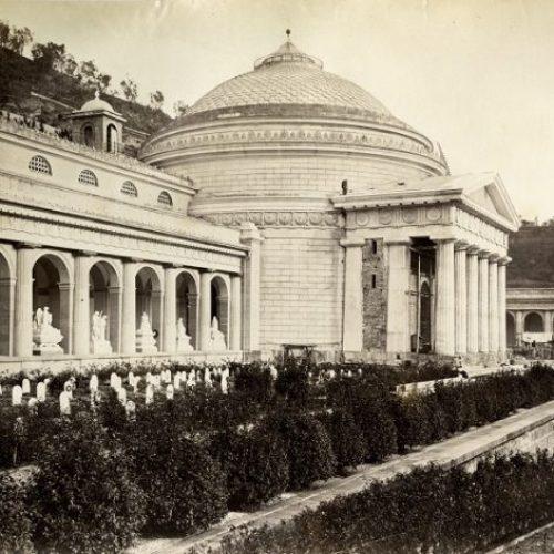 Restauro foto storiche del Cimitero monumentale di Staglieno (GE)