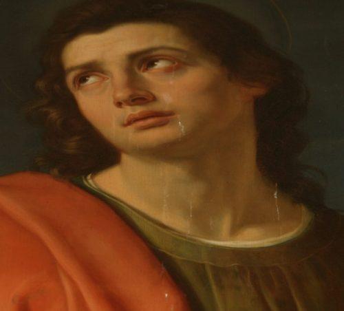 San Giovanni plorante di Giovanni Riccò – Parma