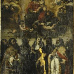 Dipinto della Basilica di Norcia (Pg)