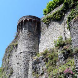 Mura medievali, Castiglione di Garfagnana (Lu)