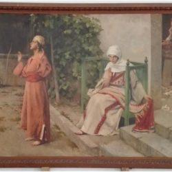 Restauro opere di Giacomo Grosso, Cambiano (To)