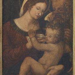 "Restauro dipinto ""Vergine con il bambino"", Gubbio (Pg)"