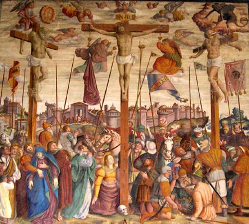 Chiesa di San Bernardino / Il ciclo della Passione di Cristo – Caravaggio