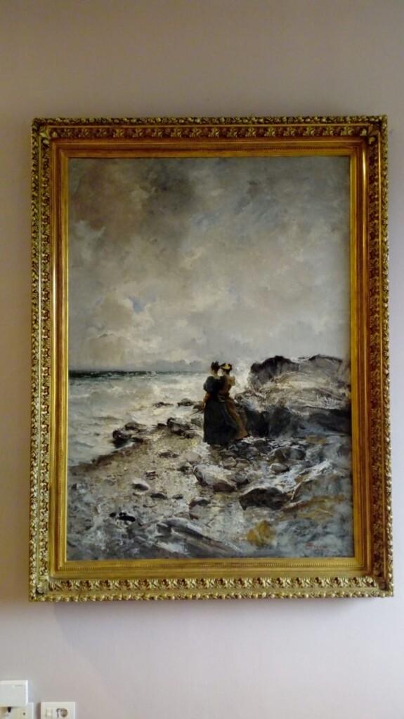 """Pompeo Mariani, """"Le temerarie""""  dipinto del Comune di Vigevano (PV)"""