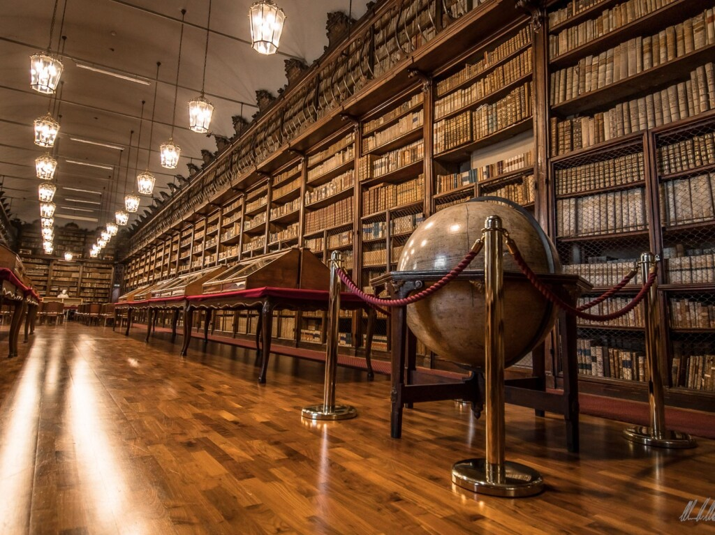 Globo Settecentesco di Vincenzo Rosa – Biblioteca Universitaria di Pavia