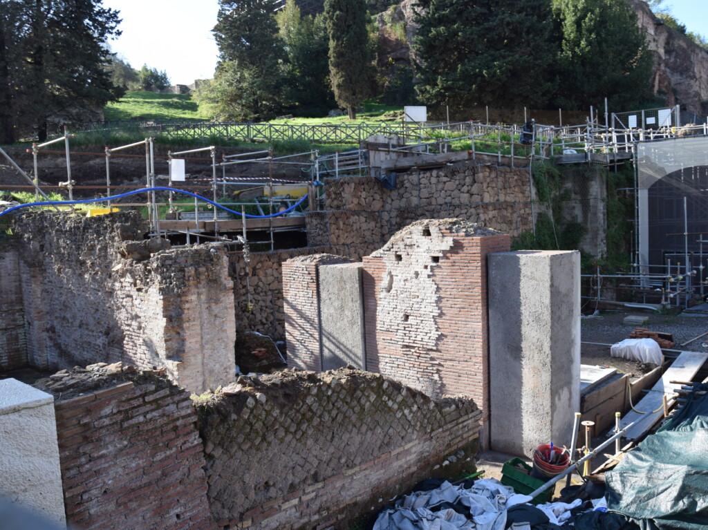 """Pendici nord-orientali del Palatino (Progetto """"Curiae Veteres"""") – Roma"""