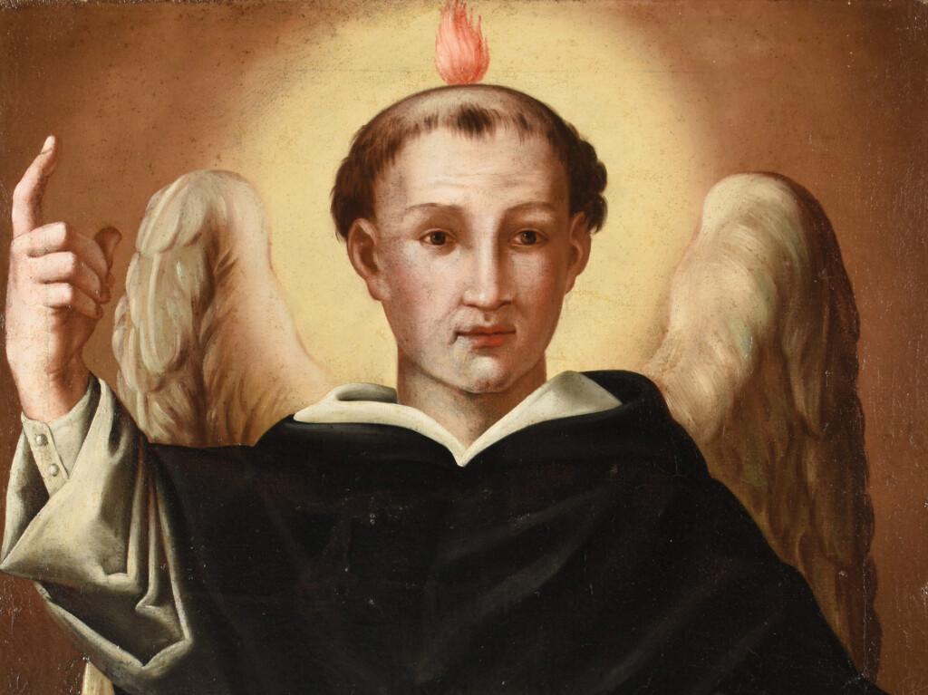 San Vincenzo Ferrer, dipinto dell'Azienda Pubblica di Servizi alla Persona Beata Lucia – Narni (TR)