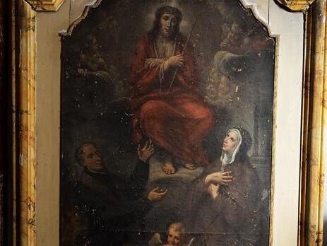 Tre dipinti ex Chiesa di Sant'Agostino del Comune di Monte San Giusto (MC)