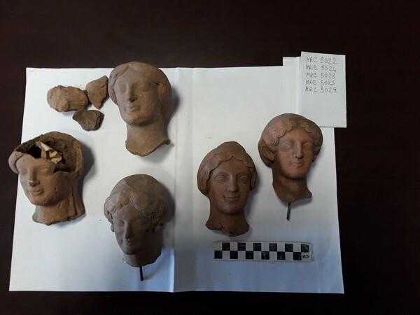 Reperti del Museo Archeologico Nazionale di Reggio Calabria anno 2019