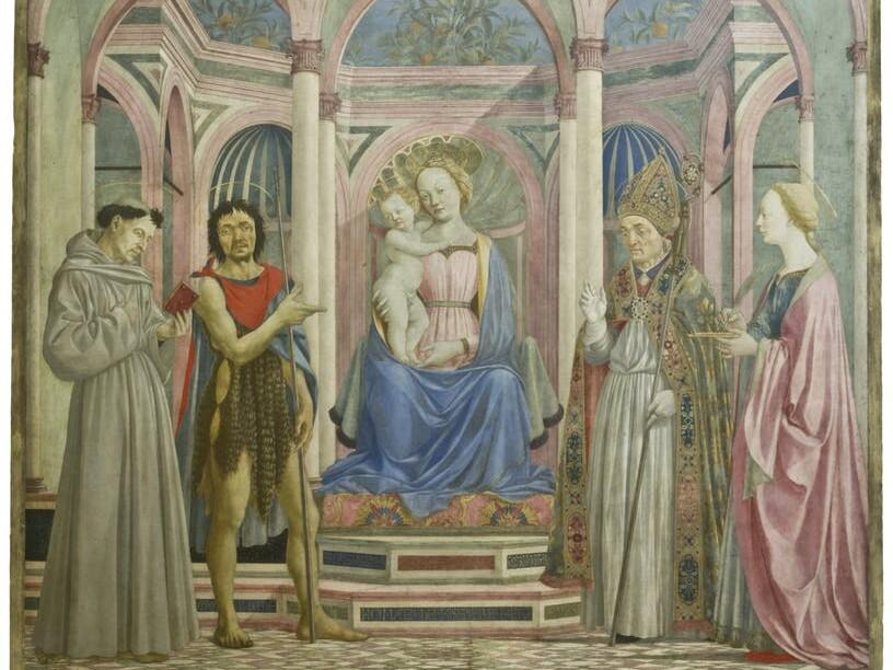 Opificio delle Pietre Dure  – Restauro Pala di Santa Lucia de' Magnoli – Firenze