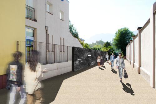 Passaggio della Memoria – Muro ex Lager di Bolzano