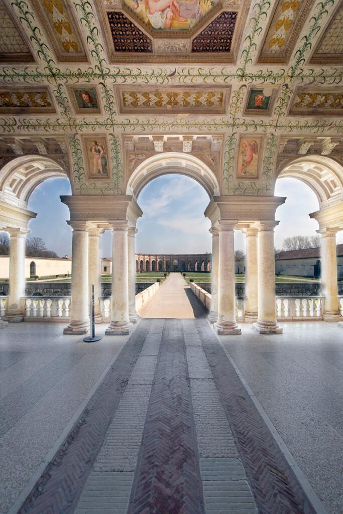 Palazzo Te Statue della Loggia di David – Mantova